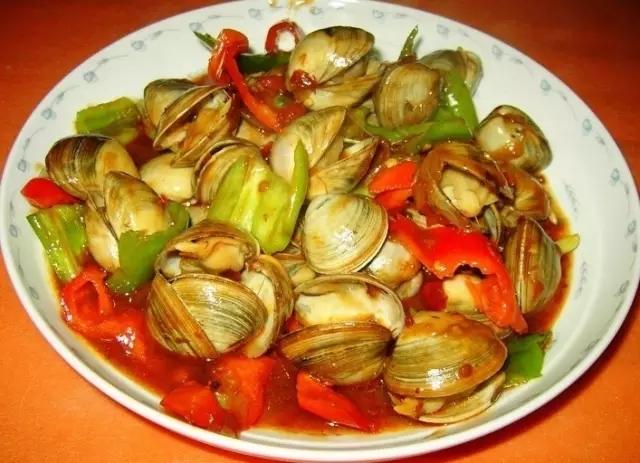 老河口白蛤菜品